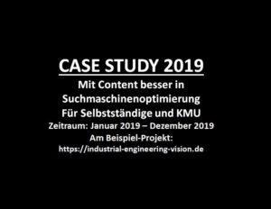 CASE STUDY 2019 IEV